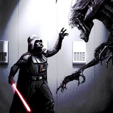 Star Wars Vs. Aliens