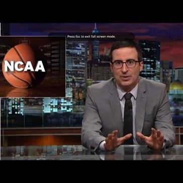John Oliver Rips Into the Official Ladder of the NCAA Tournament