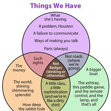 The Venn Diagram of Movie Quotes
