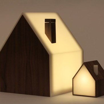 Internet-Connected Night Light Houses
