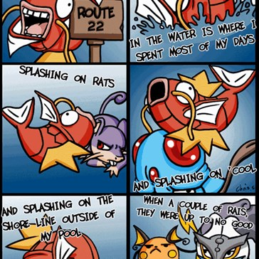 The Fresh Magikarp of Sinnoh