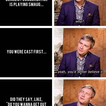 Martin Freeman is Adorable!