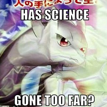 Mewtwo and Arceus fusion!?