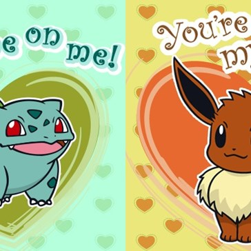 The Pokémon Company Has Released Their Own Pokémon Valentines, and They're Pretty Darn Cute