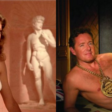 Women Are Punishing Piers Morgan With Pictures of Their Cleavage
