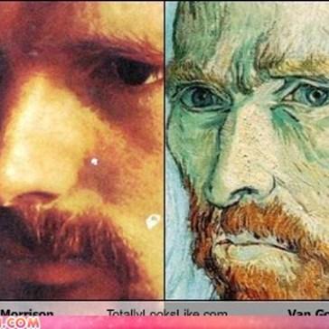 Van Morrison Totally Looks Like Van Gogh