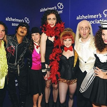 Big Bang Cast Goes Rocky Horror
