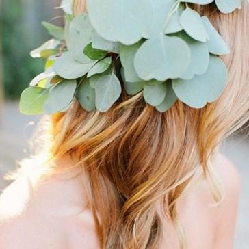 Just Pretty: A Eucalyptus Crown