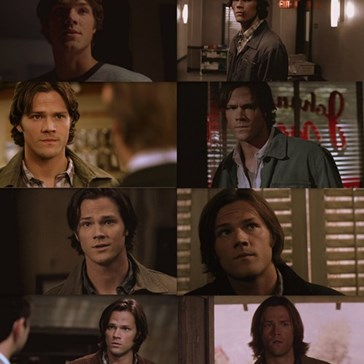 The Evolution of Sam Winchester's Hair