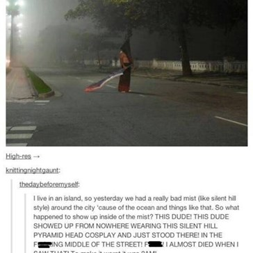 Pyramid Head Anyone?