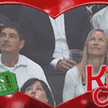 Kiss Cam is Never Satisfied