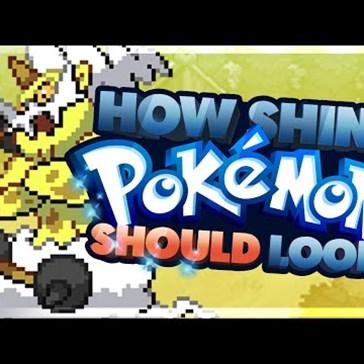 What SHINY pokemon SHOULD look like Ep 2