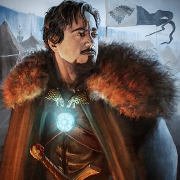 Tony Stark, King of the North!