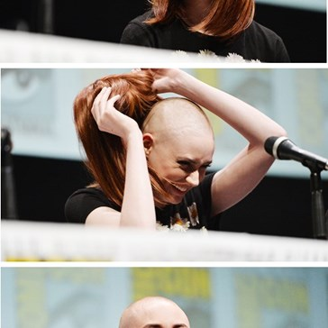 "Karen Gillan Stepped Up for ""Guardians of the Galaxy"""