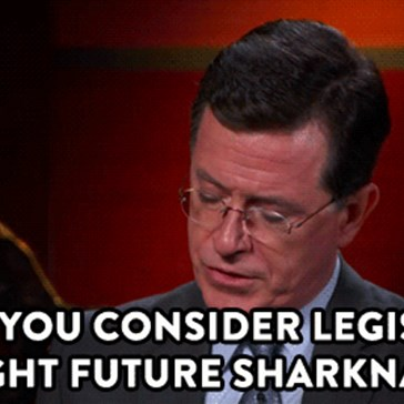 Colbert Is Asking the Tough Questions