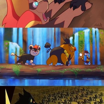 When Pokémon Meets The Lion King