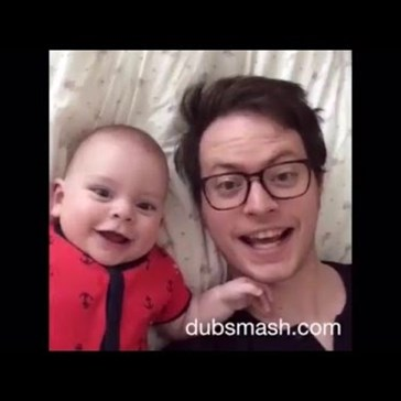 Father and Son Dubsmash Together For a Year