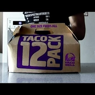 This Dude Eating a Dozen Taco Bell Tacos in Under a Minute and a Half Has Solidified My Lunch Plans