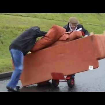 The Irish Way of Moving a Couch