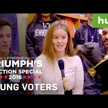 Triumph the Insult Comic Dog Addresses Politically Correct College Students and Totally Nails It