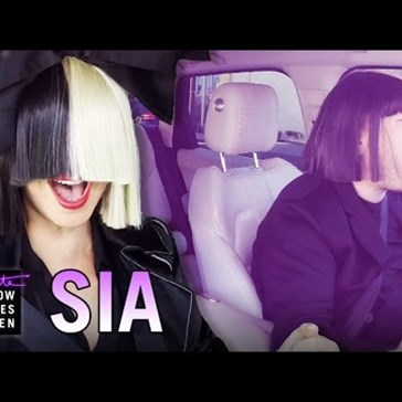 James Corden Picks Up Sia For Another Carpool Karaoke