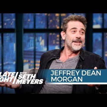Jeffrey Dean Morgan Talks About His New Role on The Walking Dead