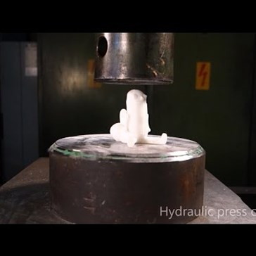 Finally, the Hydraulic Press Got Around to Crushing Your Hopes and Dreams
