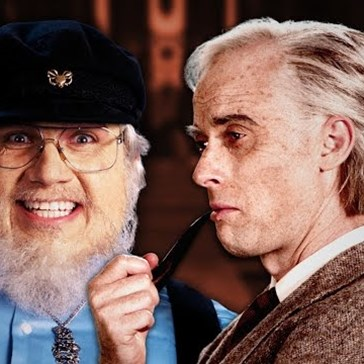 George R.R. Martin and J.R.R. Tolkien Face Off in This Epic Rap Battle