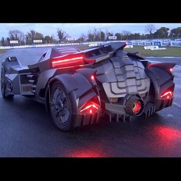 Designers Turned a Lamborghini Into a Batmobile, and the Final Product's Kind of Mind-Blowing
