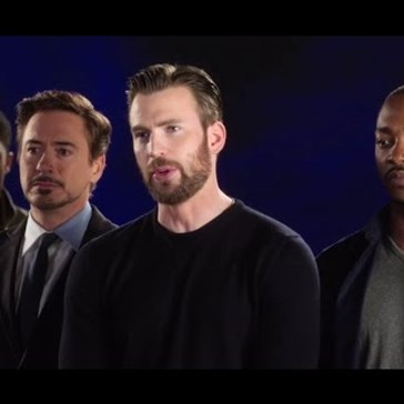 Bucky's Reaction to the Cast of Captain America: Civil War Singing Together Is Just What Your Day Needed