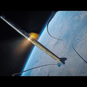 Someone Strapped a GoPro to a Rocket and Sent It Into Space