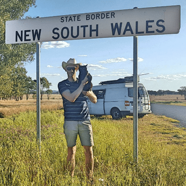 This Cat Travels All Over Australia in a Volkswagen Van With Her Human