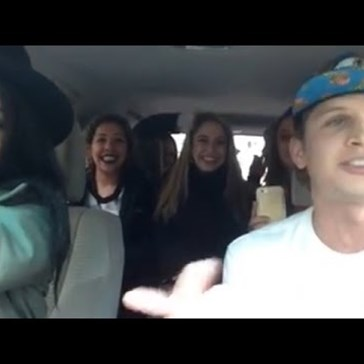 Watch an Uber Driver Freestyle for Car Full of Ladies and Probably Left With At Least One of Their Phone Numbers