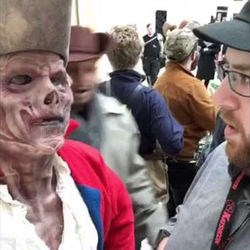 Watch Fallout 4 Cosplay Go next Level When Preston Interrupts Everyone's Favorite Revolutionary Ghoul, Hancock