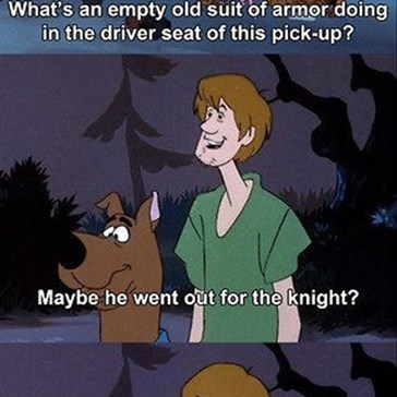 You Slay Me, Shaggy