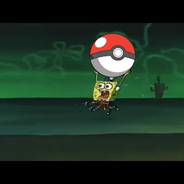 Spongebob Squarepants v Pokémon GO Video Perfectly Captures the Excitement of Stomping Round the Neighborhood All Night to Catch 'Em All