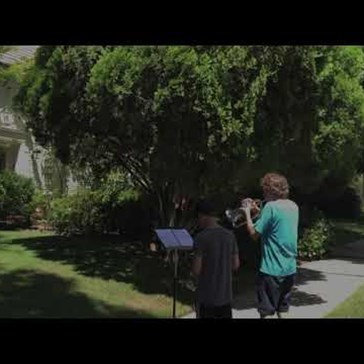 These Two Kids Got a Surprise After Playing the Star Wars Theme Outside of John Williams' House