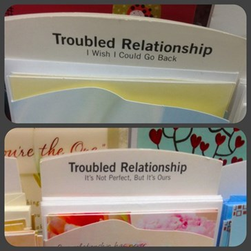 Bad Relationships Are Best Handled Via Greeting Cards