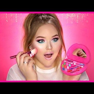 There's an Alarming Amount of Makeup Made for Kids and This Youtuber Put Them to the Test