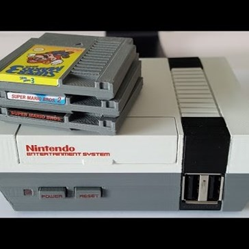 This Guy Built a Mini NES with Working Cartridges