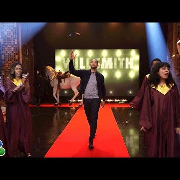 Will Smith Knows How to Make an Entrance