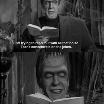 Herman Munster Has The Best Sense of Humor