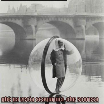 soto el ponte de Verona...  ghè na vecia scagarona..che scoresa tuto el dì...