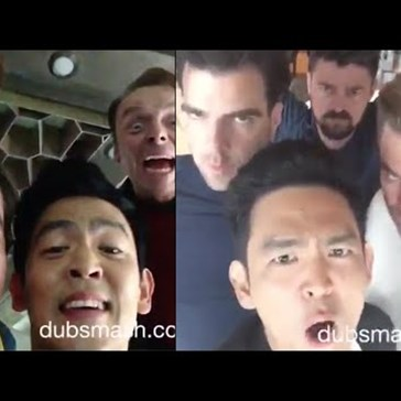 The Star Trek Beyond Cast Dubsmash Is About to Brighten Your Day