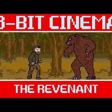 Watch 'The Revenant' as an 8-Bit Video Game