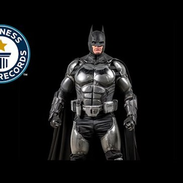 Guy Manages to Cram 23 Contraptions into His Insane Batsuit and Earns Guinness World Record