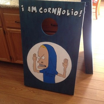 I Need Beanbag for My Corn Hole!