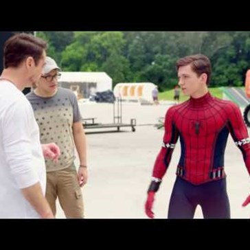 Tom Holland Is Killin It In This Behind the Scenes From Captain America: Civil War