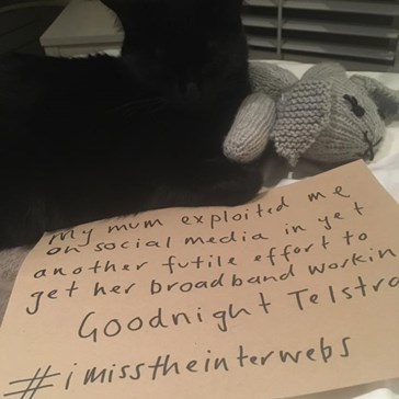 Even Without Internet Access This Woman Managed to Go Viral Thanks to Her Cat