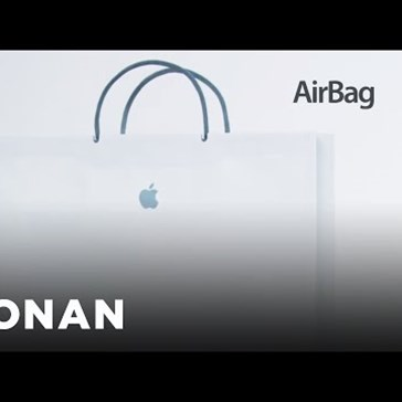 Conan O'Brien Introduces the Latest in Apple Technology